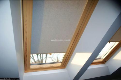 Galeria rolety na okna dachowe dekolux 001