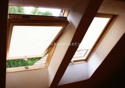 Galeria rolety na okna dachowe dekolux 002
