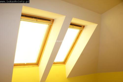 Galeria rolety na okna dachowe dekolux 013