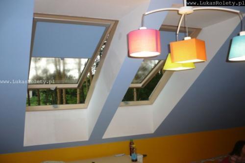 Galeria rolety na okna dachowe dekolux 024
