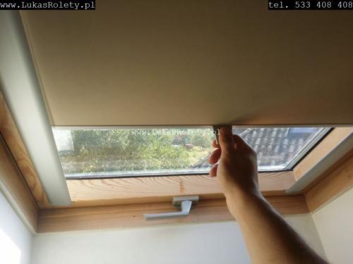 Galeria rolety na okna dachowe dekolux 028