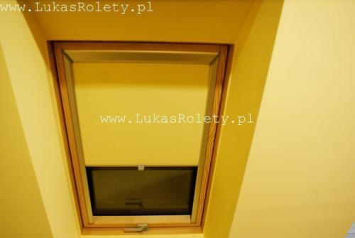 Galeria rolety na okna dachowe dekolux 030