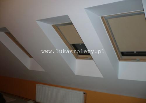 Galeria rolety na okna dachowe dekolux 031