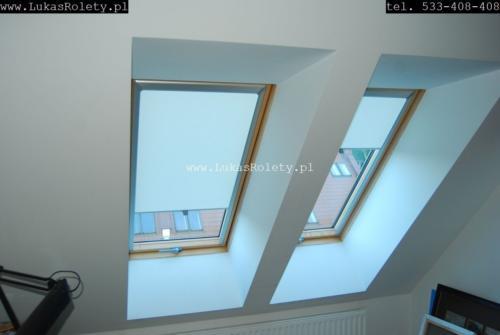 Galeria rolety na okna dachowe dekolux 034