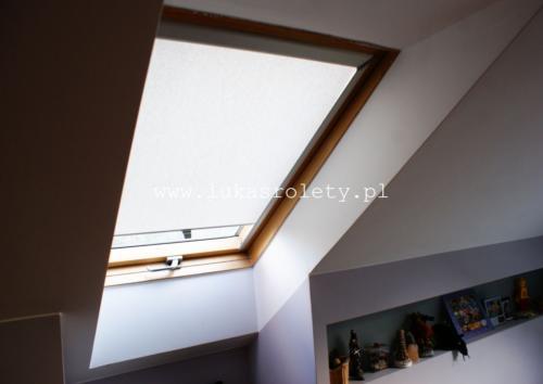 Galeria rolety na okna dachowe dekolux 045
