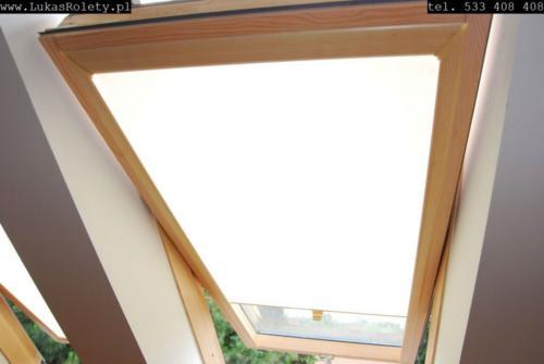 Galeria rolety na okna dachowe dekolux 049