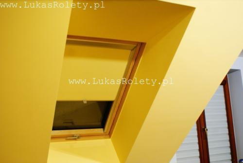 Galeria rolety na okna dachowe dekolux 050
