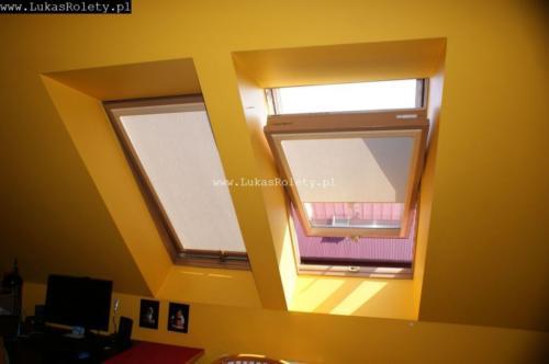 Galeria rolety na okna dachowe dekolux 052