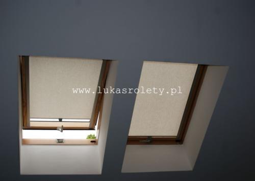 Galeria rolety na okna dachowe dekolux 053