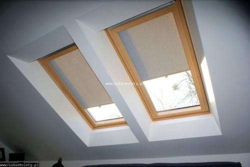 Galeria rolety na okna dachowe dekolux 056