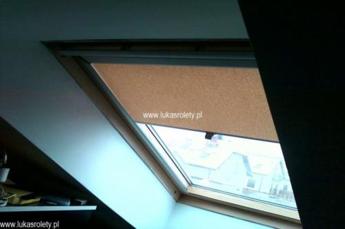 Galeria rolety na okna dachowe dekolux 061