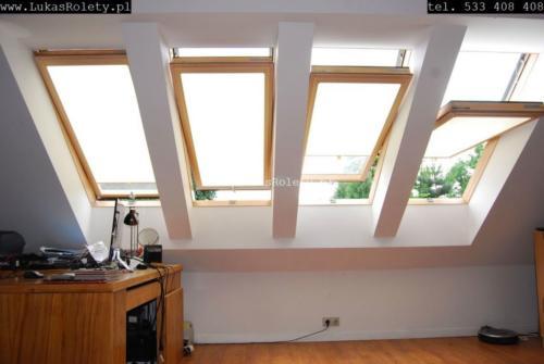Galeria rolety na okna dachowe dekolux 066
