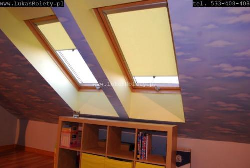 Galeria rolety na okna dachowe dekolux 068