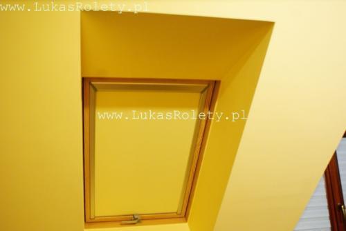 Galeria rolety na okna dachowe dekolux 070