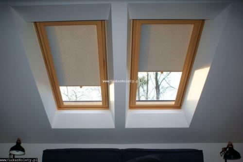 Galeria rolety na okna dachowe dekolux 075