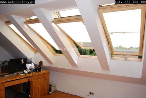 Galeria rolety na okna dachowe dekolux 080