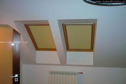 Galeria rolety na okna dachowe dekolux 081