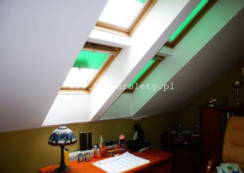 Galeria rolety na okna dachowe dekolux 084