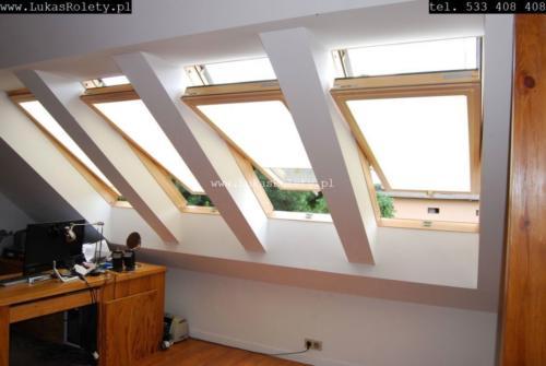 Galeria rolety na okna dachowe dekolux 087