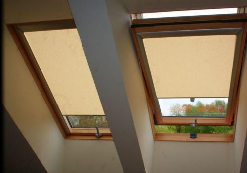 Galeria rolety na okna dachowe dekolux 091