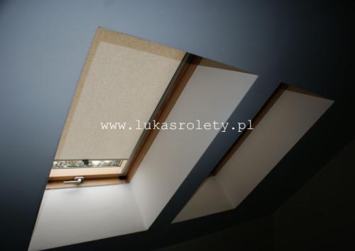 Galeria rolety na okna dachowe dekolux 093