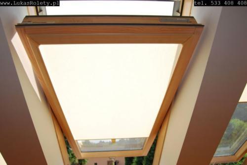 Galeria rolety na okna dachowe dekolux 094