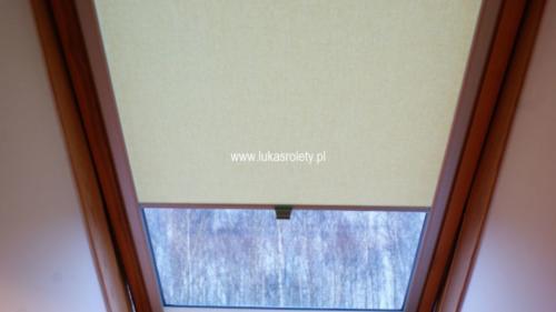 Galeria rolety na okna dachowe dekolux 096