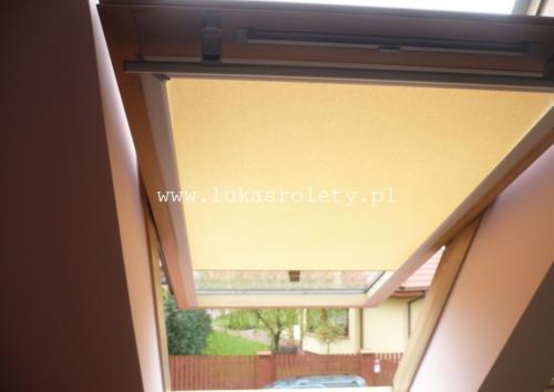 Galeria rolety na okna dachowe dekolux 100