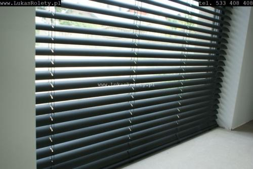 Galeria zaluzje aluminiowe 50mm 10