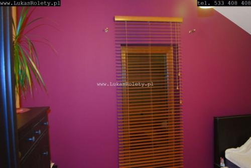Galeria zaluzje drewniane 50mm 002