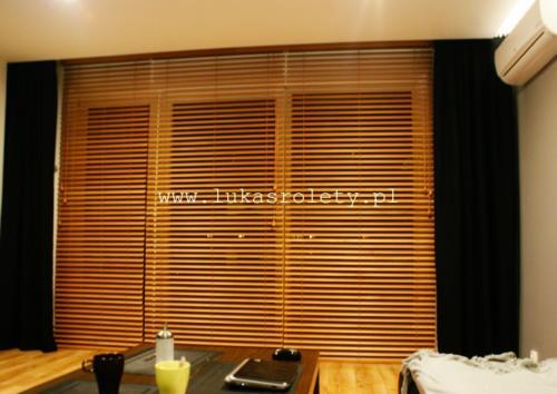 Galeria zaluzje drewniane 50mm 013