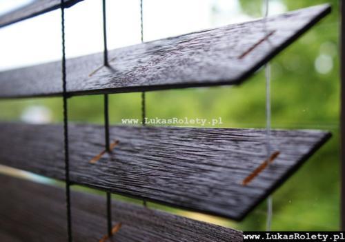 Galeria zaluzje drewniane 50mm 015