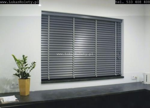 Galeria zaluzje drewniane 50mm 024