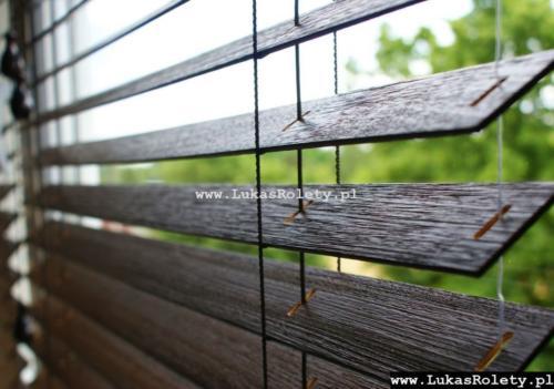 Galeria zaluzje drewniane 50mm 026