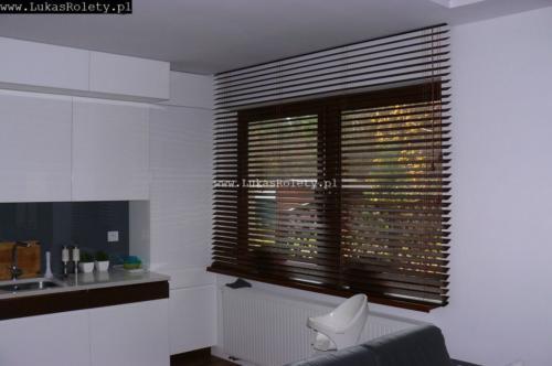 Galeria zaluzje drewniane 50mm 028