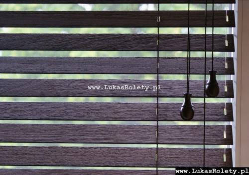 Galeria zaluzje drewniane 50mm 030
