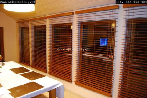 Galeria zaluzje drewniane 50mm 031
