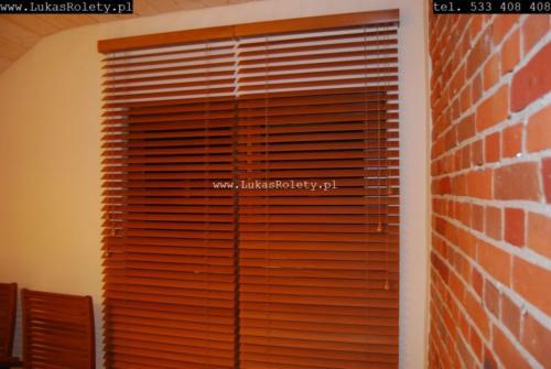Galeria zaluzje drewniane 50mm 033