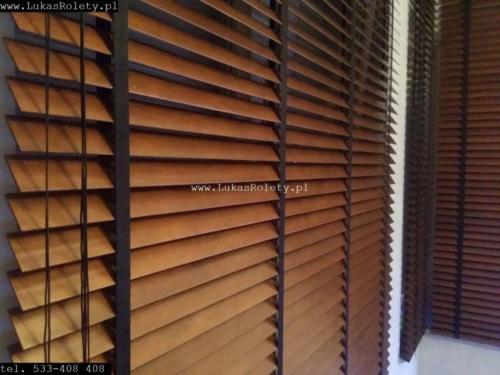 Galeria zaluzje drewniane 50mm 039