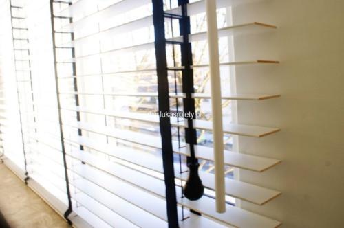 Galeria zaluzje drewniane 50mm 043