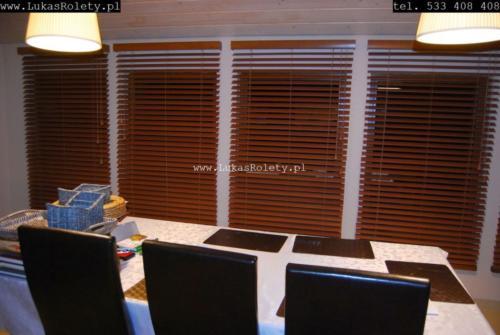 Galeria zaluzje drewniane 50mm 047