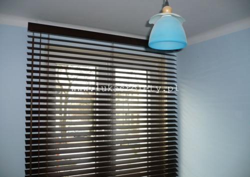 Galeria zaluzje drewniane 50mm 056