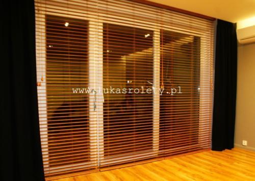 Galeria zaluzje drewniane 50mm 061