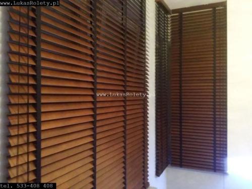 Galeria zaluzje drewniane 50mm 062