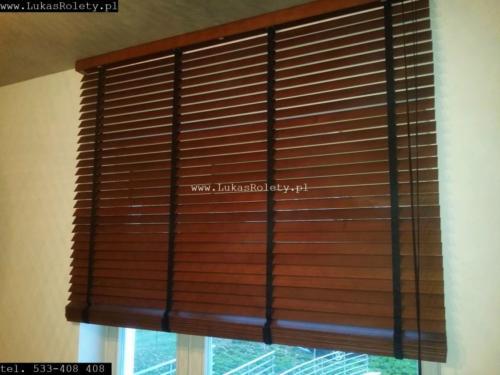 Galeria zaluzje drewniane 50mm 064