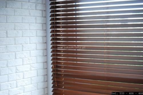 Galeria zaluzje drewniane 50mm 065