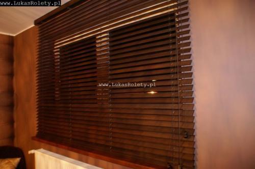 Galeria zaluzje drewniane 50mm 067