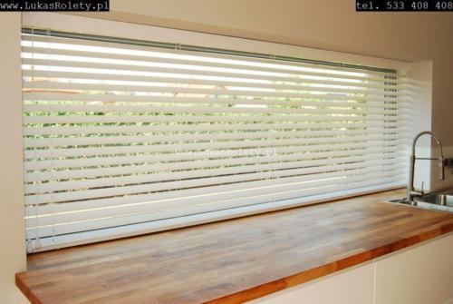 Galeria zaluzje drewniane 50mm 072