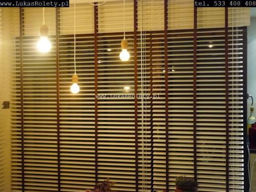 Galeria zaluzje drewniane 50mm 077