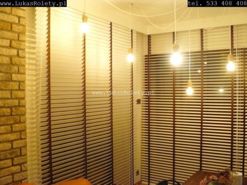 Galeria zaluzje drewniane 50mm 079